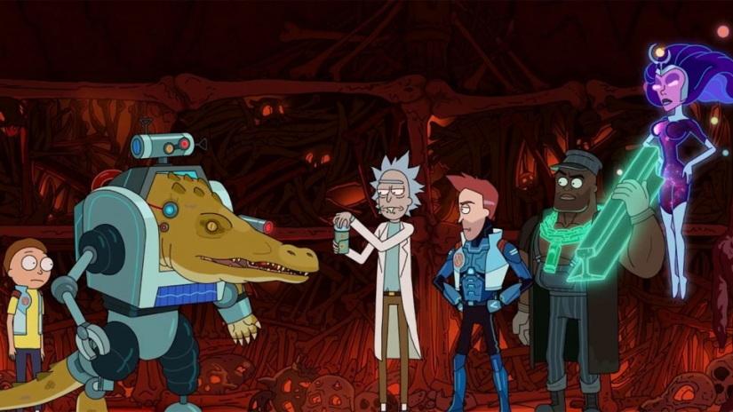 rick and morty vindicators