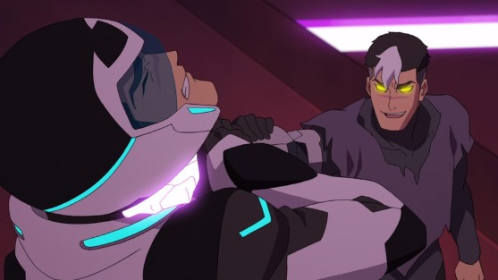 voltron shiro vs dark shiro