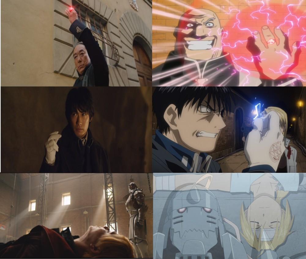 movie anime comparisons